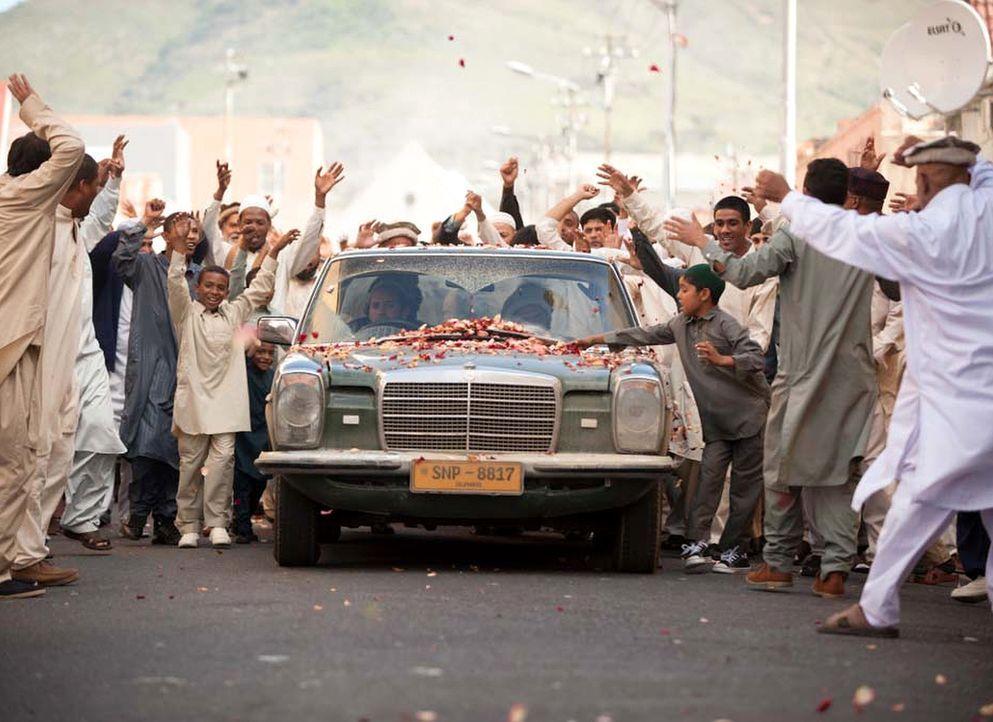 In seiner Heimatstadt wird Haissam Haqqani als Held gefeiert ... - Bildquelle: Homeland   2014 Twentieth Century Fox Film Corporation
