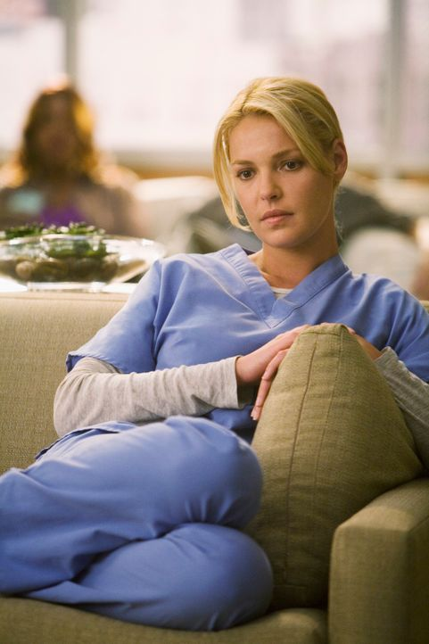 Streitet sich mit Alex um einen Patienten: Izzie (Katherine Heigl) ... - Bildquelle: Touchstone Television