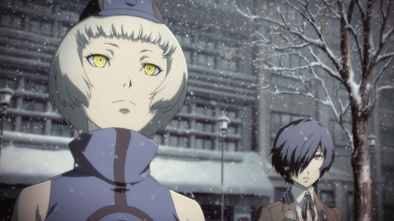 (v.l.n.r.) Elisabeth; Makoto Yuki - Bildquelle: ATLUS   SEGA/PERSONA3 the Movie Committee