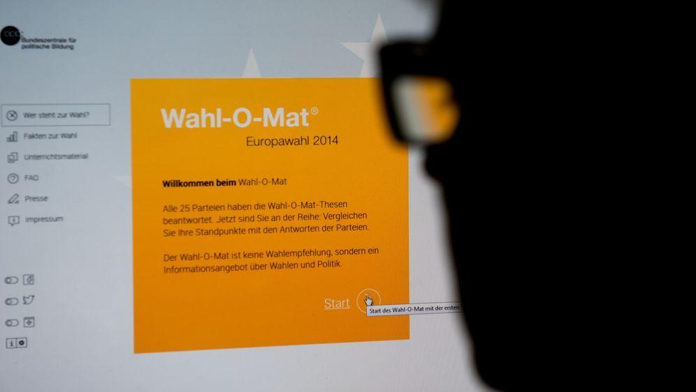 Europawahl 2014: Partei finden mit dem Wahl-O-Mat - Bildquelle: dpa