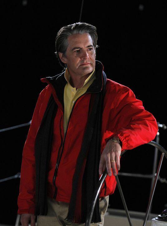 """Macht mit Ted einen ganz besonderen Segeltörn: Zoeys Ehemann """"der Captain"""" (Kyle MacLachlan) ... - Bildquelle: 20th Century Fox International Television"""