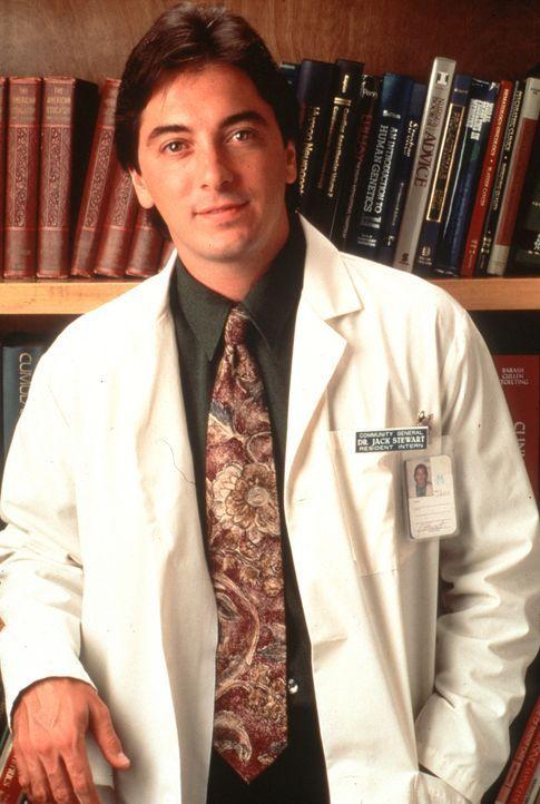 Der junge und intelligente Arzt Jack (Scott Baio). - Bildquelle: Viacom
