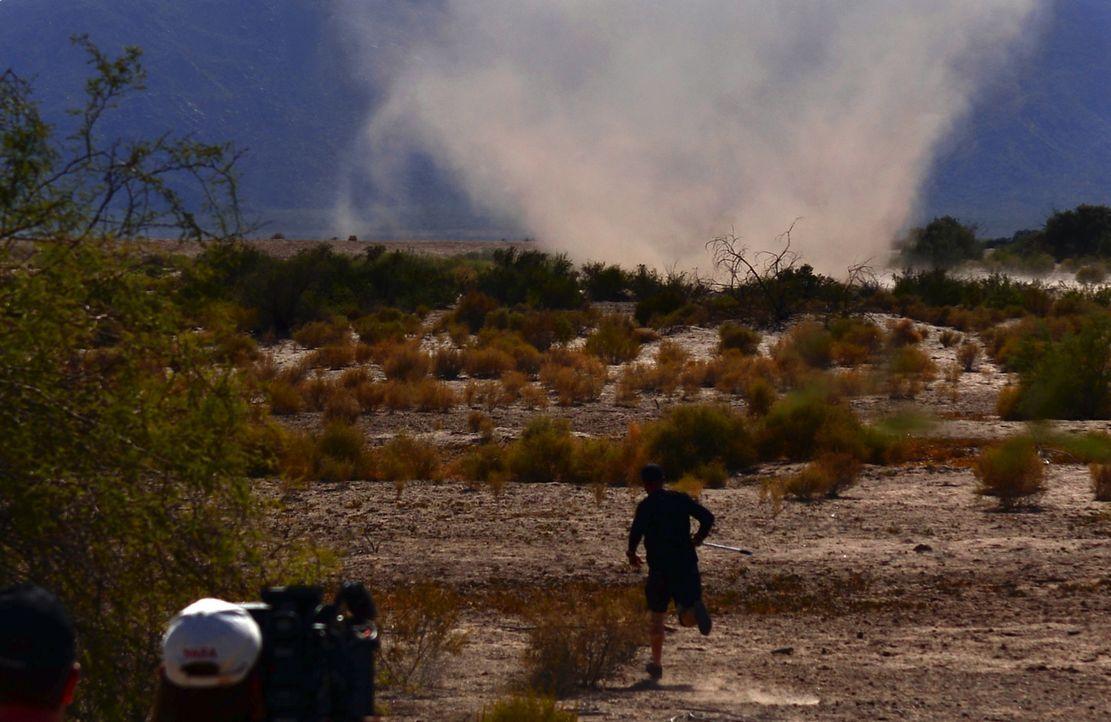 Ricky und seine Kollegen jagen dieses Mal Sandstürmen hinterher ...