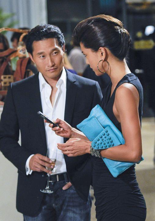 Als ein Kollege von Danny, wird auf grausame Weise ermordet wird, beginnen Chin (Daniel Dae Kim, l.) und Kono (Grace Park, r.) mit den Ermittlungen... - Bildquelle: TM &   2010 CBS Studios Inc. All Rights Reserved.