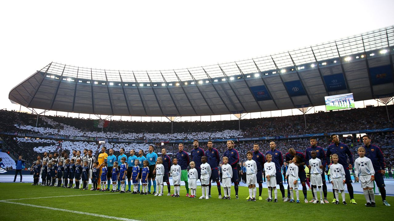 2015: Berliner Olympiastadion - Bildquelle: 2015 Getty Images