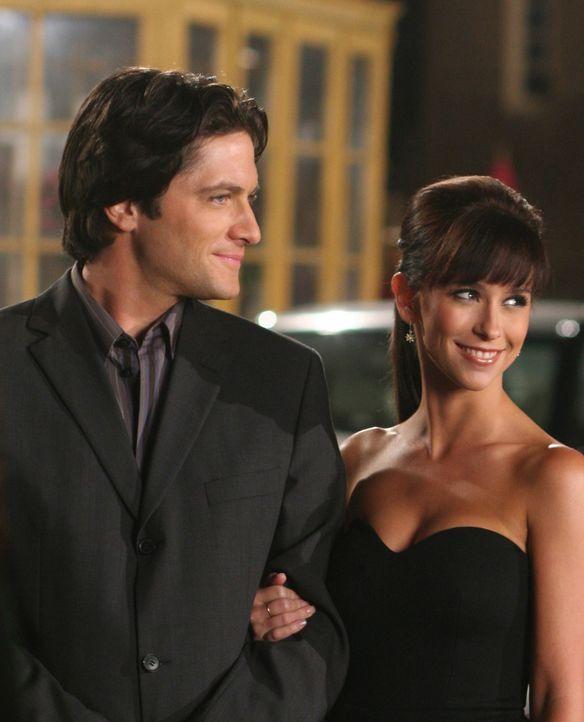 Für Jim (David Conrad, l.) und Melinda (Jennifer Love Hewitt, r.) ist der Tag noch nicht vorbei, denn der Geist von Zoe hat sie um Hilfe gebeten ... - Bildquelle: ABC Studios