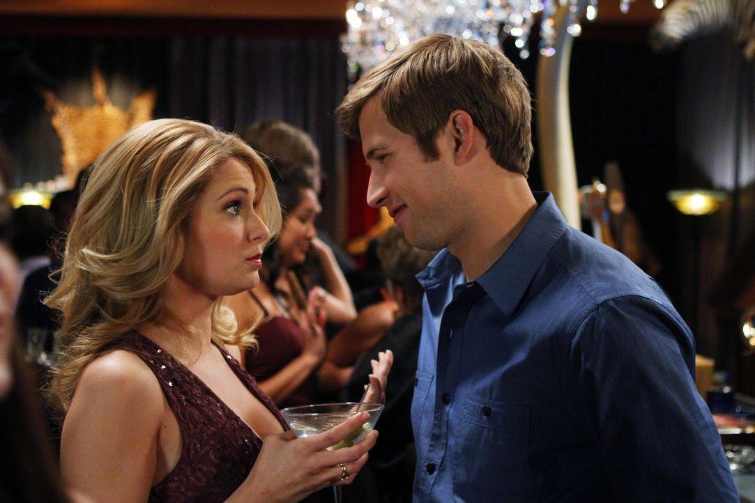 Austin (Justin Deeley, r.) will sich an Bree (Cameron Goodman, l.) rächen und er weiß auch schon, wie ... - Bildquelle: 2012 The CW Network. All Rights Reserved.
