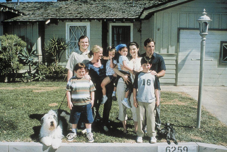 Tim (Ben Stiller, hinten r.) und Nick (Jack Black, hinten l.) sind Kollegen, beste Freunde und Nachbarn. Sie führen ein harmonisches Leben. Aber al... - Bildquelle: Sony 2007 CPT Holdings, Inc.  All Rights Reserved.
