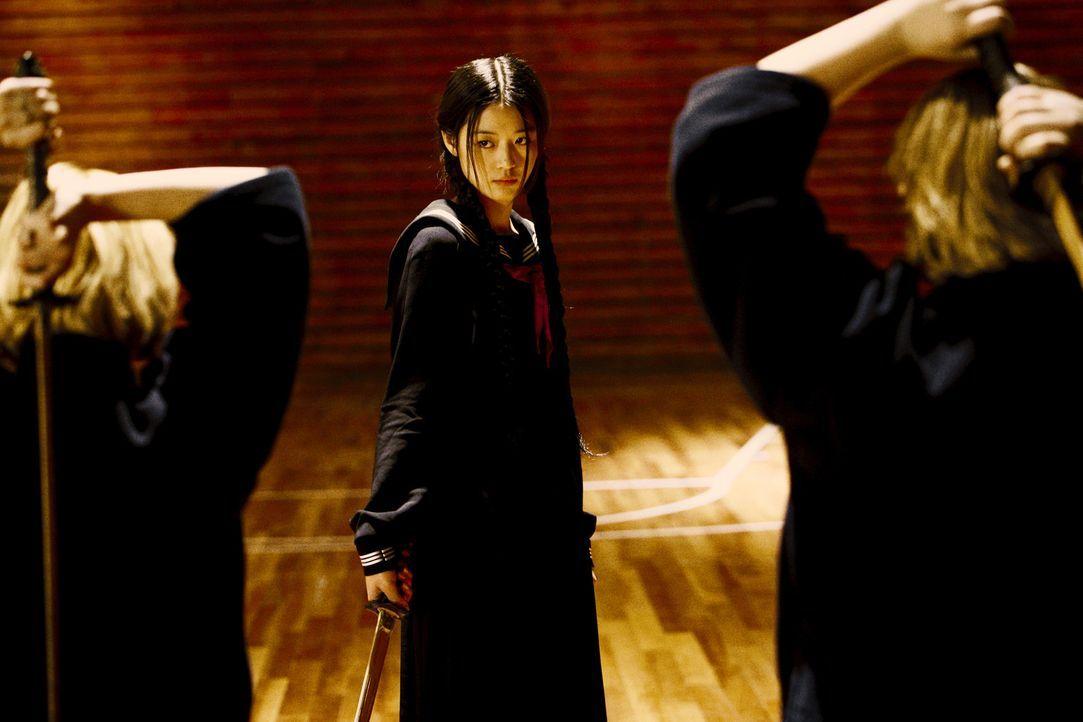 Seit vielen Jahren jagt Saya (Gianna Jun, M.) Vampire, weil sie sich an der ältesten Vampirin, Onigen, rächen will, da diese ihren Vater ermordete....