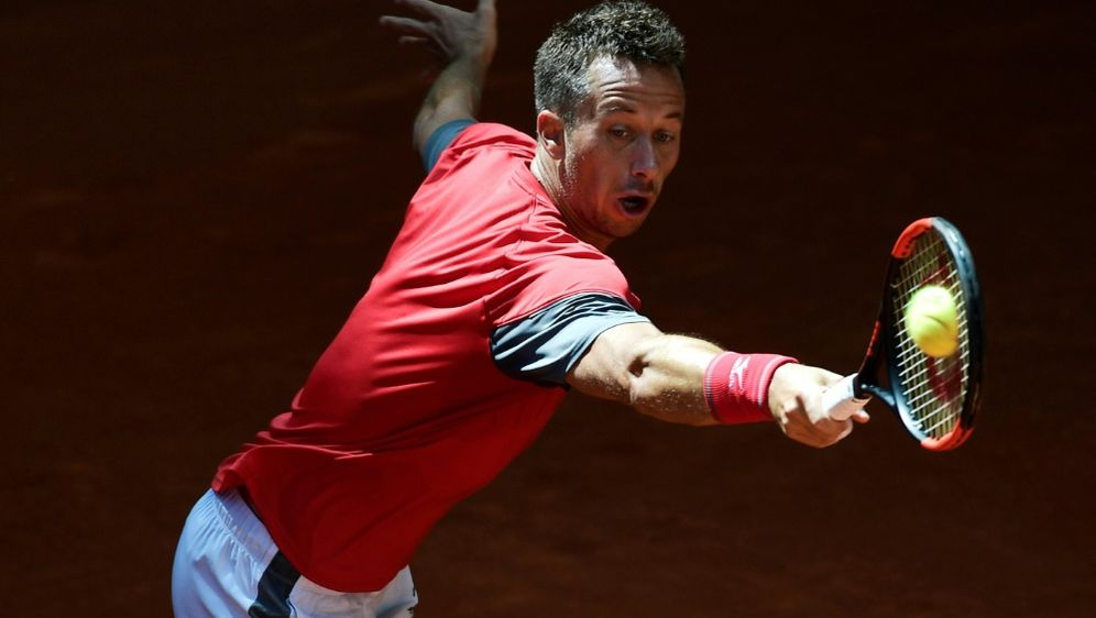 Philipp Kohlschreiber gewinnt sein Auftaktspiel in Rom - Bildquelle: AFPSIDJAVIER SORIANO