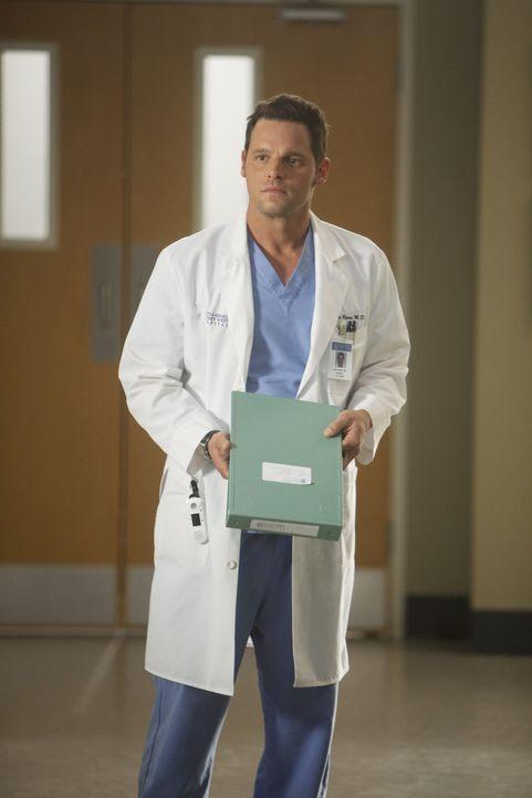 Will von Morgans Fall abgezogen werden als sie zu abhängig von ihm wird: Alex (Justin Chambers) ... - Bildquelle: ABC Studios