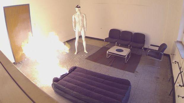 Luftmatratzenexperiment