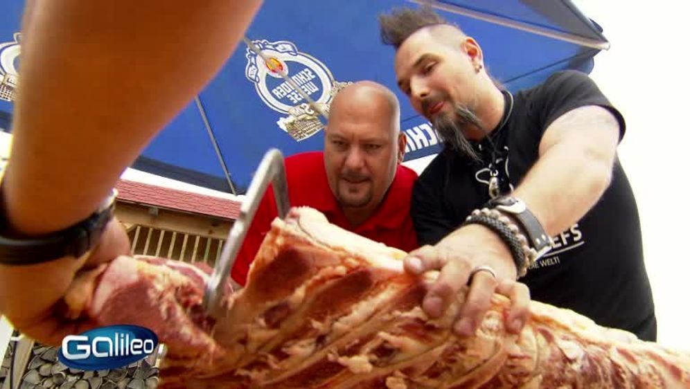 Jumbo auf Achse - Das beste BBQ der Welt