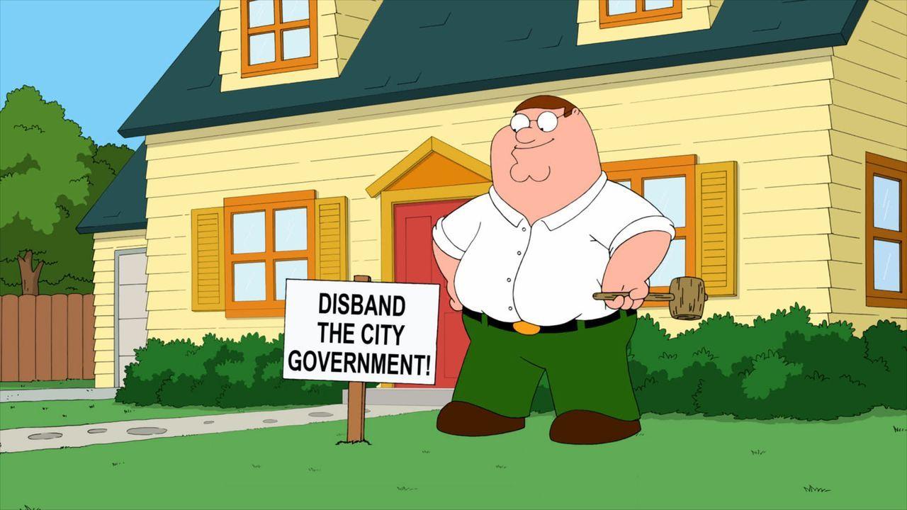 Peter schließt sich einer populistischen Tea Party an - mit fatalen Folgen ... - Bildquelle: 2011 Twentieth Century Fox Film Corporation. All rights reserved.