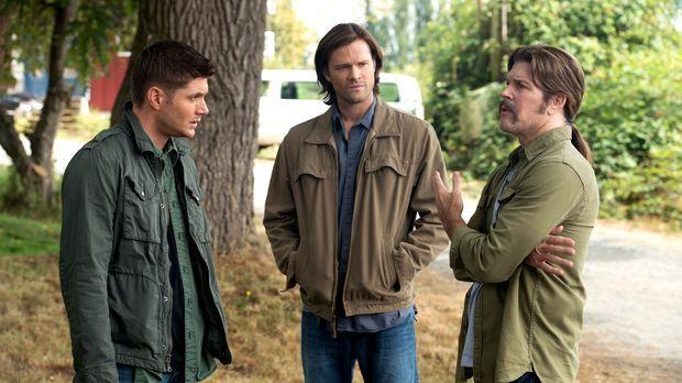 Als sich Sonny (Blake Gibbons, r.), ein alter Freund von Dean (Jensen Ackles,...