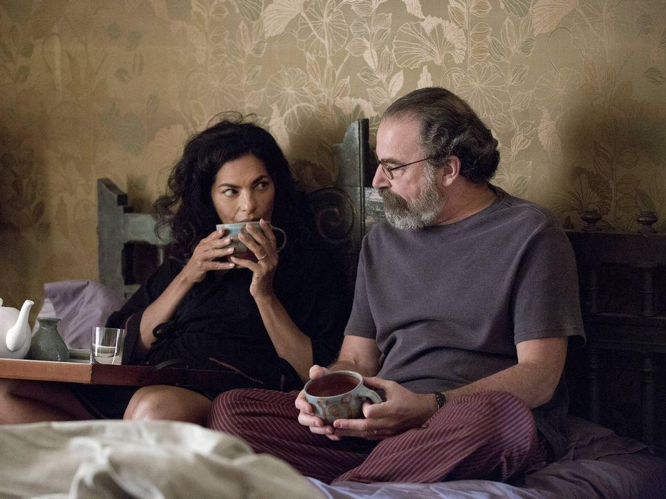 Während sie ihrer Ehe noch einmal eine Chance geben wollen, ahnen sie nicht, dass Alain ein doppeltest Spiel mit ihnen spielt: Saul (Mandy Patinkin,... - Bildquelle: 2013 Twentieth Century Fox Film Corporation. All rights reserved.