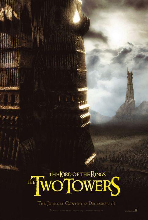 Die Gefährten müssen sich gemeinsam der gewaltigen Macht stellen, die von zwei Türmen ausgeht ... - Bildquelle: Warner Brothers