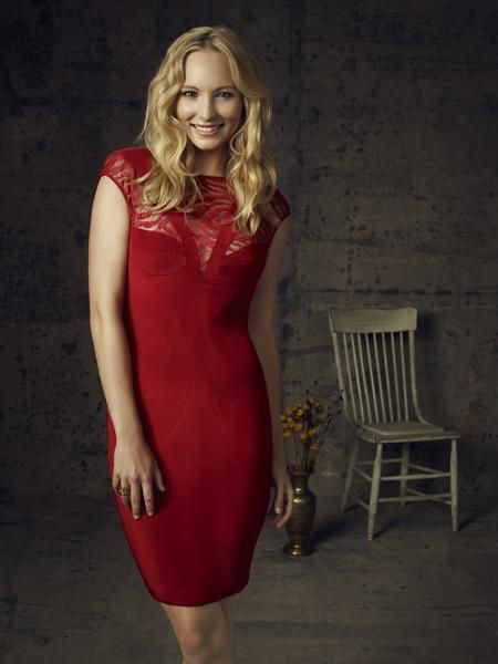 Candice Accola ist Caroline Forbes - Bildquelle: Warner Bros. Television