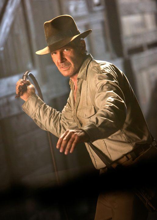 Ein neues Abenteuer beginnt: Indiana Jones (Harrison Ford) ... - Bildquelle: David James & TM 2008 Lucasfilm Ltd. All Rights Reserved.