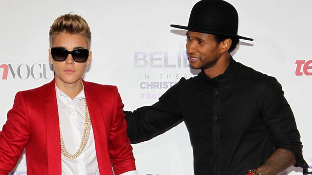 justin bieber staunt ber usher sex tape kursiert im netz. Black Bedroom Furniture Sets. Home Design Ideas