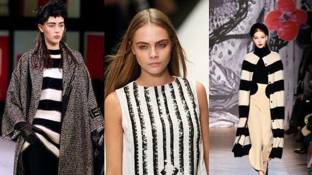 Mode-Trend Blockstreifen: So trägt man sie