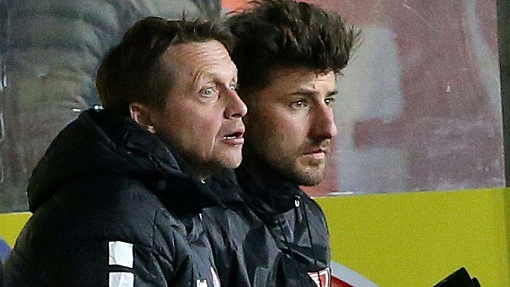 Frank Heinemann (l.) wird Interims-Trainer bei Uerdingen - Bildquelle: FIROFIROSID