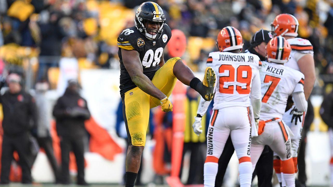 Inside Linebacker: Vince Williams (Pittsburgh Steelers) - Bildquelle: Imago