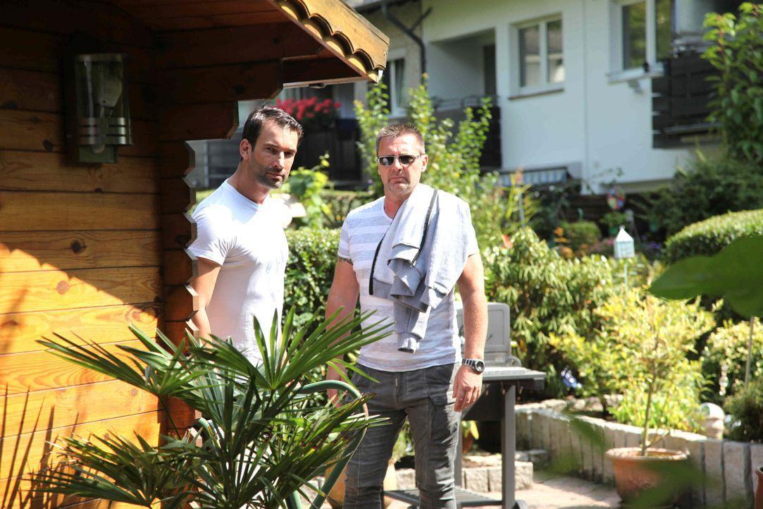 Chris Brandt (l.) und Heiner Sturm (r.) ermitteln im Auftrag ihrer Klienten - stets für deren Recht ... - Bildquelle: SAT.1