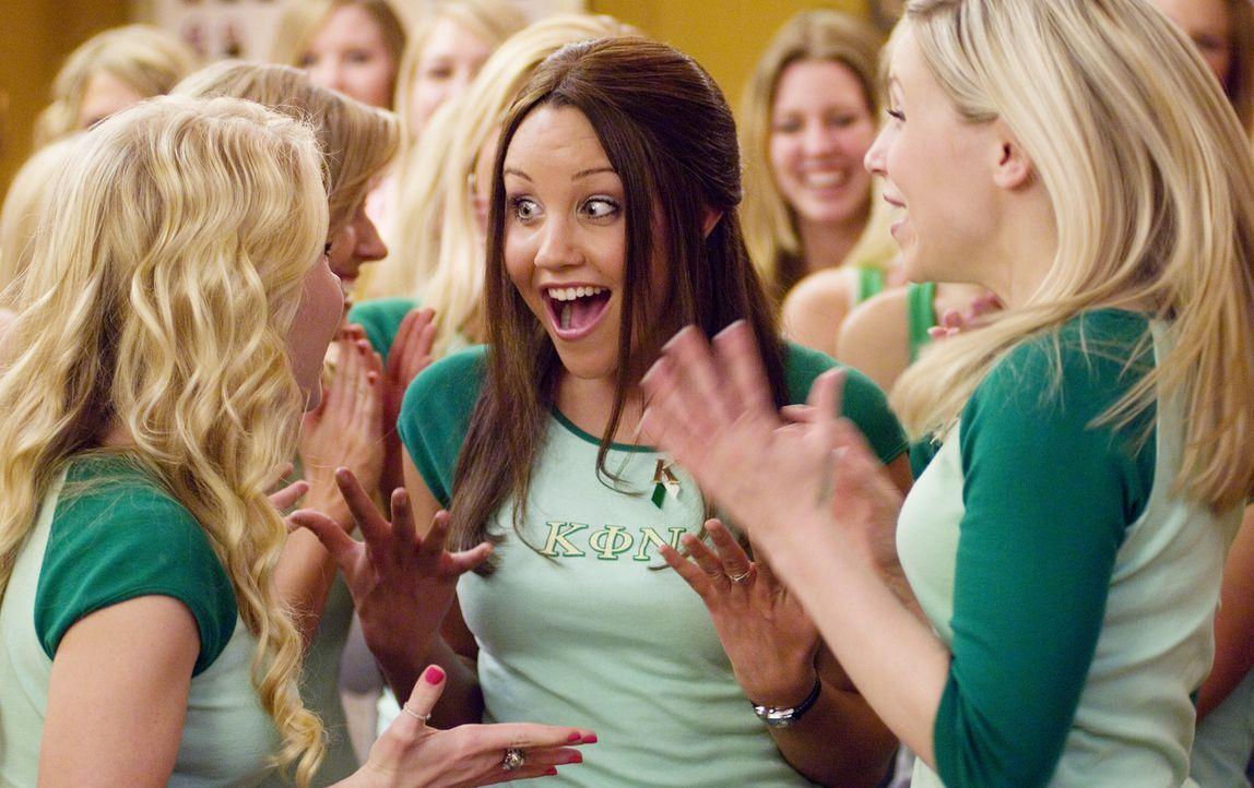 """Sydney (Amanda Bynes, M.) hat gerade ihr Studium begonnen, als sie in die elitäre Studentenverbindung """"Kappa Phi Nu"""", in der schon ihre Mutter Mitg... - Bildquelle: 2007 Universal Studios, All Rights Reserved"""