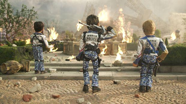 Das Team America Elitekommando kann in letzter Sekunde Paris vor dem Anschlag...