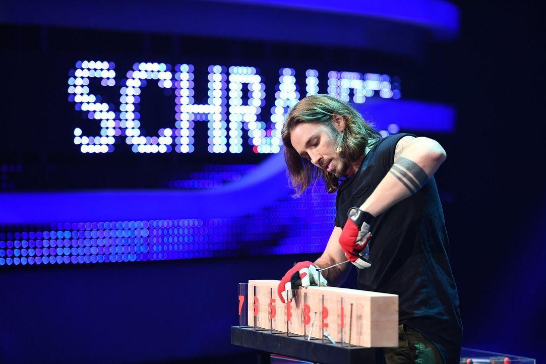 Liegt Gil Ofarim eine Schraubenlänge vorne? - Bildquelle: Willi Weber ProSieben/Willi Weber