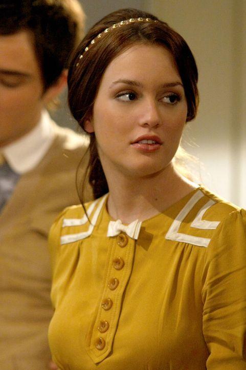Steht zu ihrer besten Freundin, egal was auf dem Videoband zu sehen ist: Blair (Leighton Meester) ... - Bildquelle: Warner Bros. Television