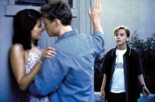 Malcolm mittendrin - Malcolm (Frankie Muniz, r.) stört seinen Bruder Francis...