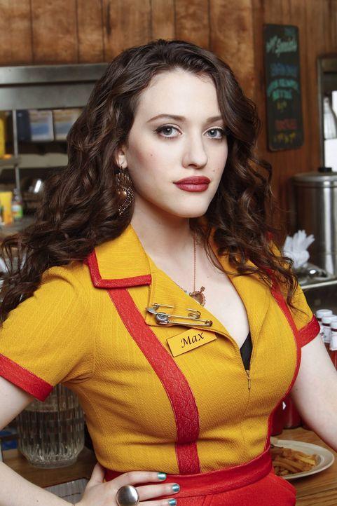 (1. Staffel) - Ist eine hart arbeitende junge Frau, die es bisher nicht leicht im Leben hatte: Max Black (Kat Dennings) ... - Bildquelle: Warner Brothers