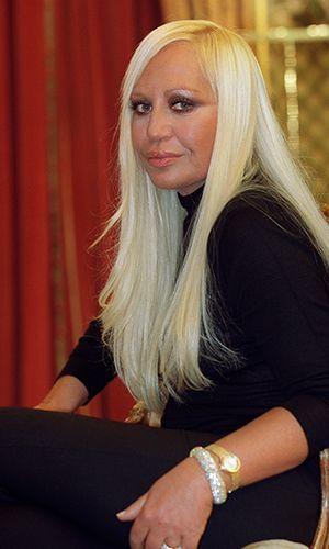 Donatella Versace - Bildquelle: AFP