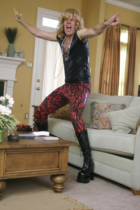 Weder seine Frau noch seine Kinder ahnen, dass Jerry (Gary Cole) einst der amerikanischen Mega-Rockband Rock Toxin angehört hat. Jerry war der Lead... - Bildquelle: Buena Vista International Television |