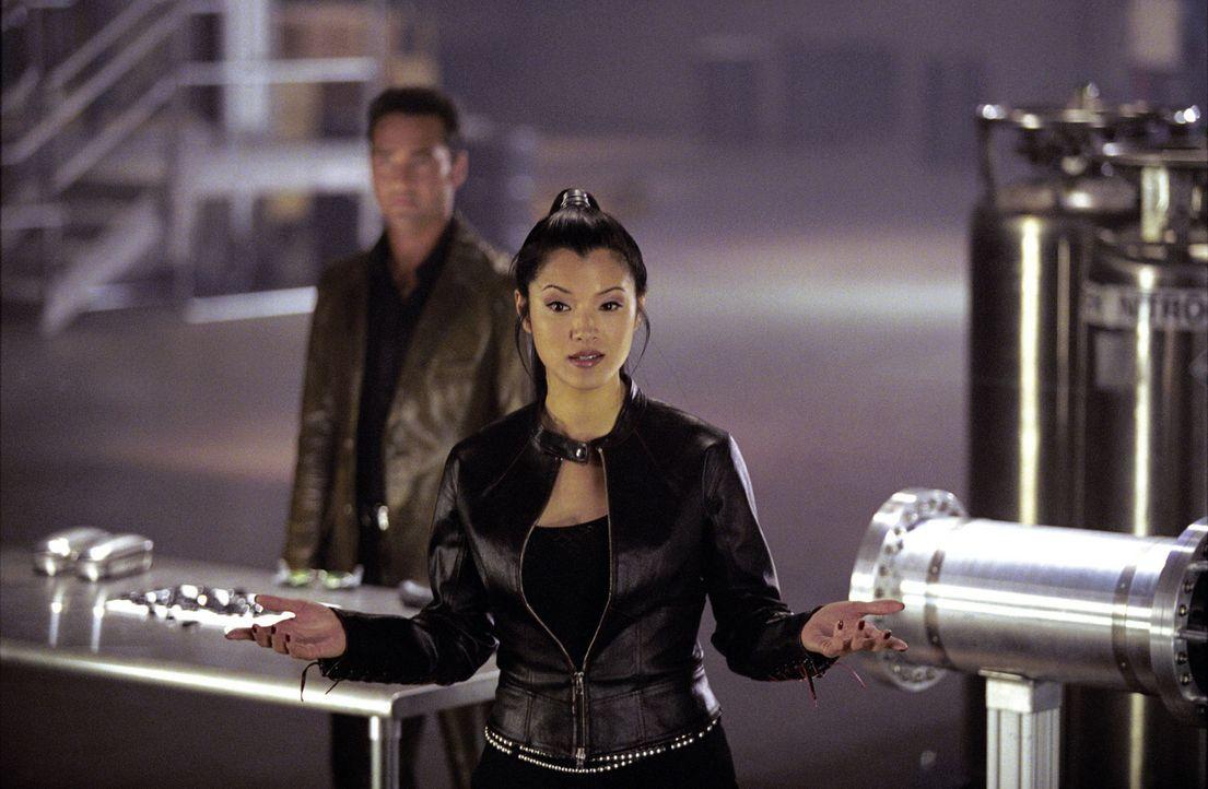 Fürchtet weder Tod noch Teufel: Sona (Kelly Hu) ... - Bildquelle: Warner Bros.