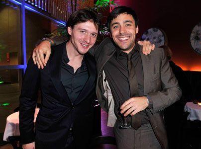 David Oakes (l.) und Liam Garrigan. - Bildquelle: Sat 1 Succo Media Ralf Succo