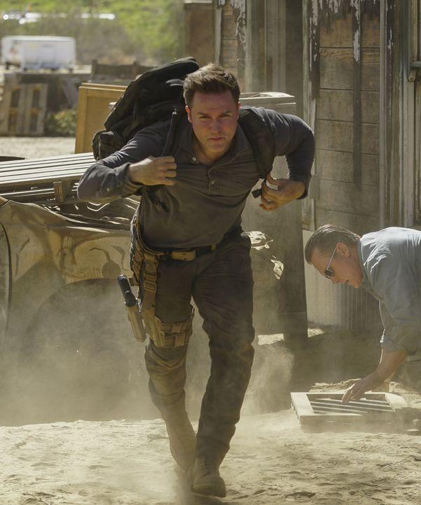 Um von Cabe zu lernen, kommt Tim Armstrong (Scott Porter) nach Los Angeles und zum Team Scorpion - kein leichter neuer Arbeitsplatz ... - Bildquelle: Sonja Flemming 2016 CBS Broadcasting, Inc. All Rights Reserved.