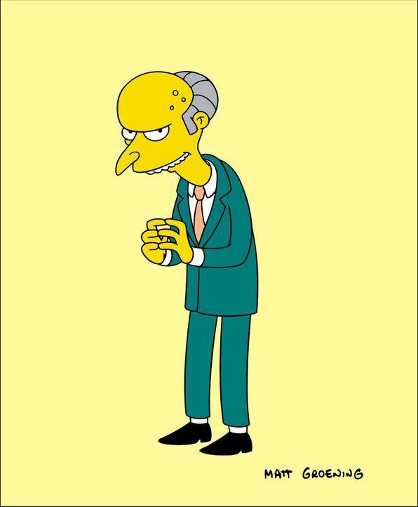 (19. Staffel) - Mr. Burns ist der reichste Mann in Springfield, Besitzer des örtlichen Atomkraftwerkes und somit Homers Arbeitgeber ... - Bildquelle: und TM Twentieth Century Fox Film Corporation - Alle Rechte vorbehalten