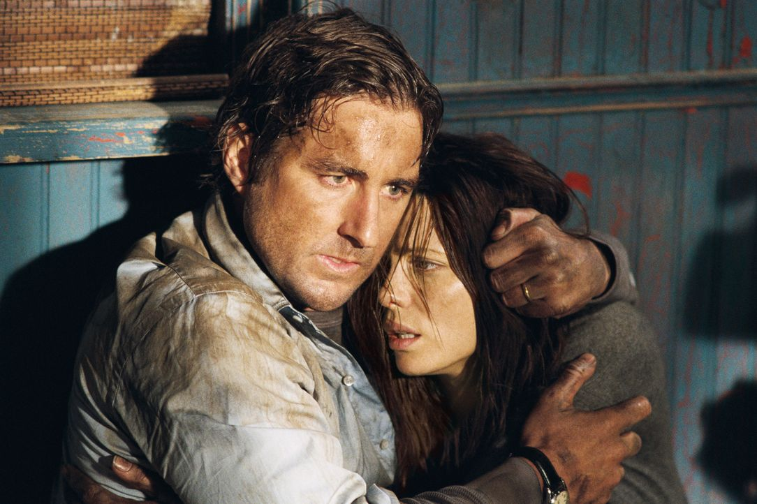 Nach einer Panne mitten in der Einöde steigen Amy (Kate Beckinsale, r.) und David (Luke Wilson, l.) in einem Motel ab. Ihre Unterkunft ist jedoch a... - Bildquelle: 2007 CPT Holdings, Inc. All Rights Reserved. (Sony Pictures Television International)