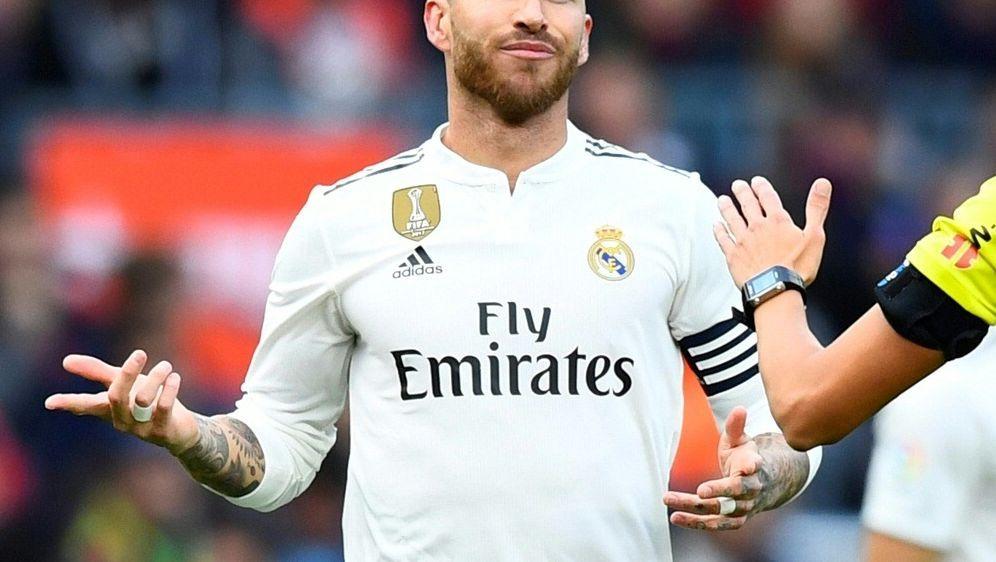 Sergio Ramos entschuldigt sich bei Milan Havel - Bildquelle: AFPSIDGABRIEL BOUYS