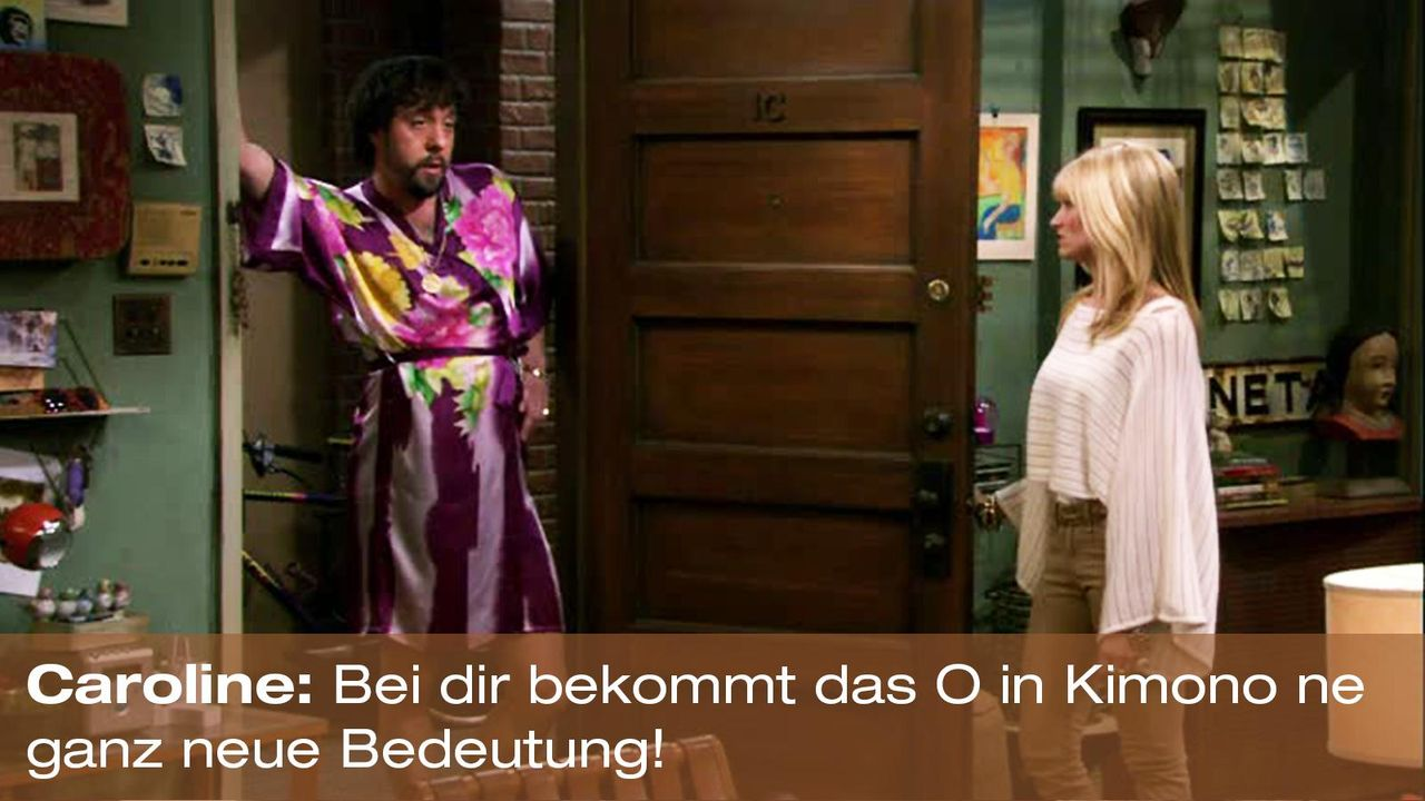 2-broke-girls-zitat-staffel1-episode-19-spring-break-caroline-kimono-warnerpng 1600 x 900 - Bildquelle: Warner Brothers Entertainment Inc.