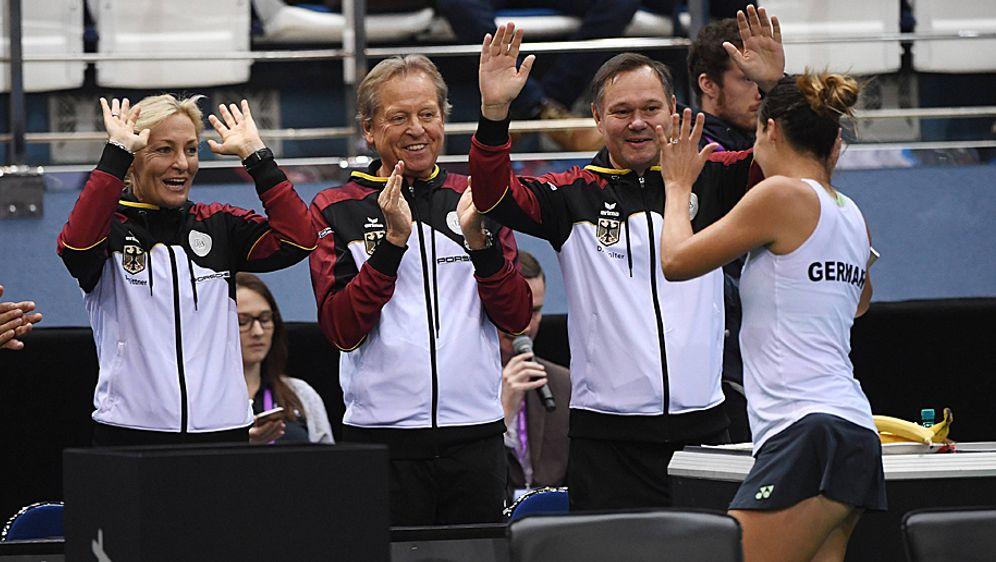 Auch ohne Angelique Kerber gewann die DTB-Auswahl die erste Runde in Minsk - Bildquelle: imago/Paul Zimmer