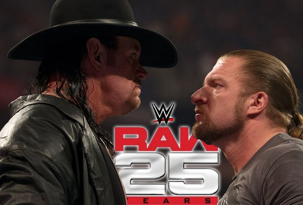 25 jahre wwe raw undertaker und co gro es legenden treffen. Black Bedroom Furniture Sets. Home Design Ideas