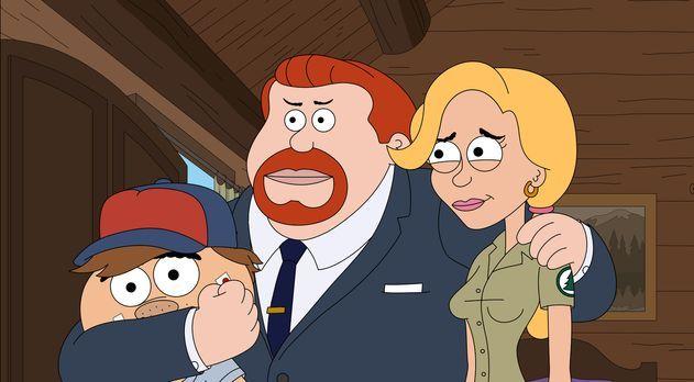 Eine ganz besondere Familie: Ethel (r.), Connie (M.) und Malloy (l.) ... - Bi...