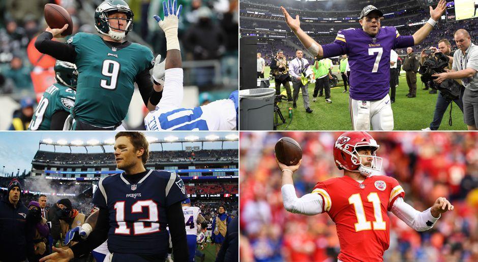 Das Quarterback-Ranking vor den Playoffs - Bildquelle: Getty Images