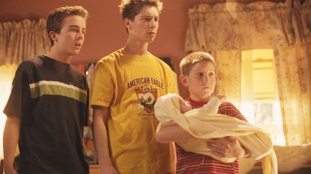 Fürsorglich kümmern sich Malcolm (Frankie Muniz, l.), Reese (Justin Berfield,...
