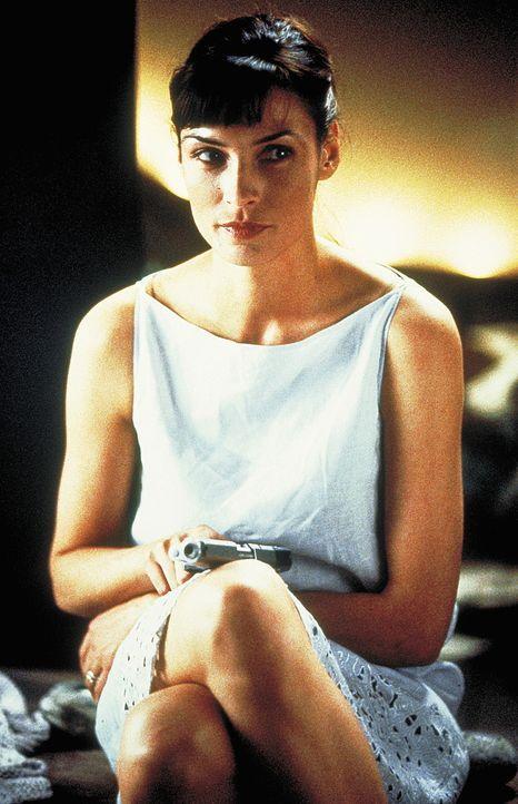 Schön, cool und schießbereit: Lily (Famke Janssen) ... - Bildquelle: Columbia Pictures