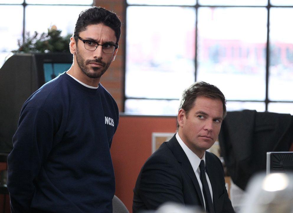 Wird Kevin (Ethan Rains, l.) dem Team um Tony (Michael Weatherly, r.) dabei behilflich sein, einen Fall zu lösen? - Bildquelle: CBS Television